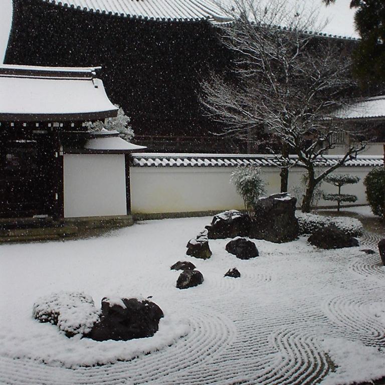 百萬遍知恩寺の冬の風景2